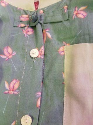 2fbe1986086f1 ... ヨウリュウチュニックのご紹介です♪ 色はアイボリーとグリーンの2色展開です。 デザイナーMAKIはグリーンを着用♪